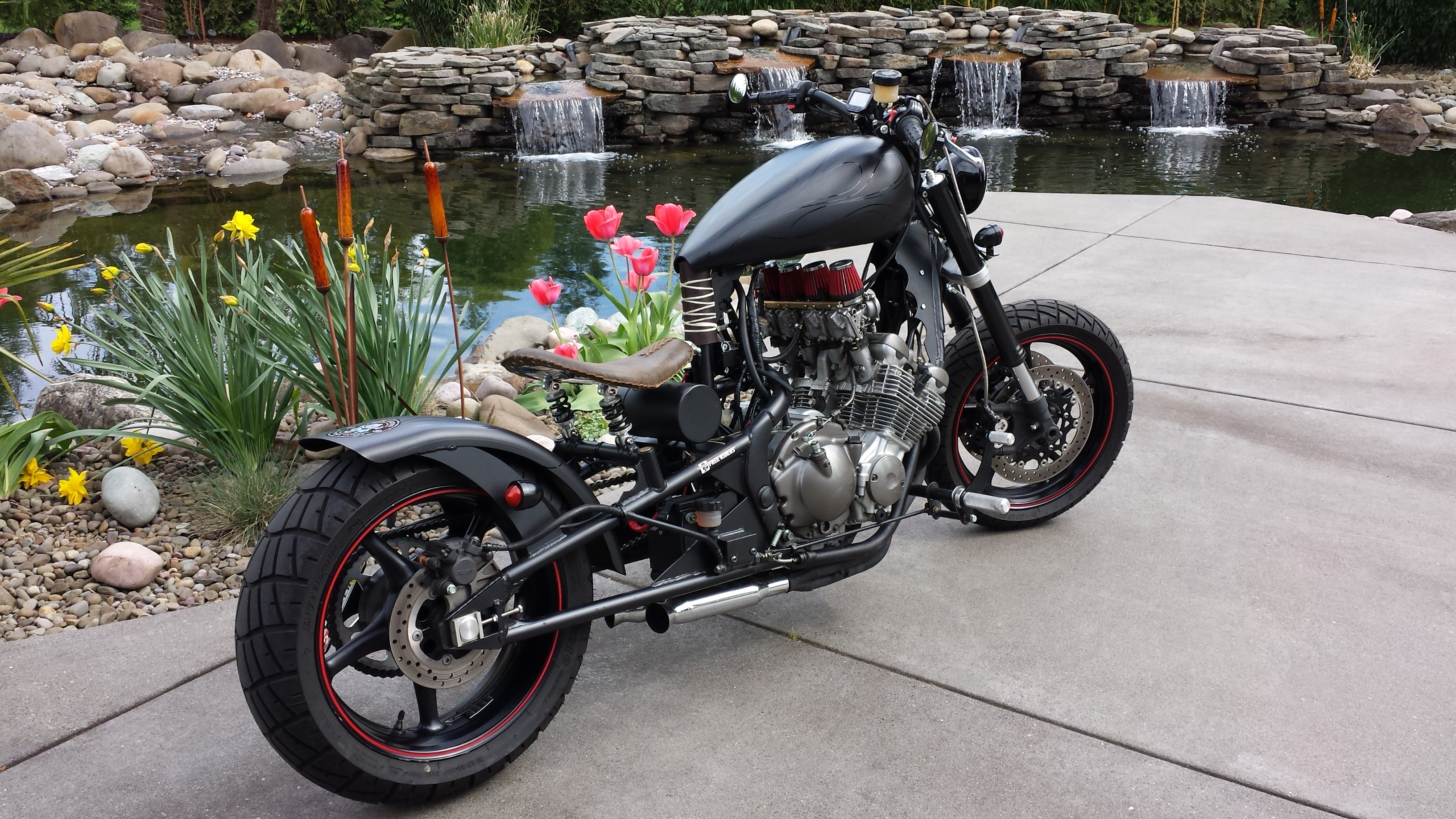 Custom Streached and Raked Bobber, Cruiser, Coolness ...